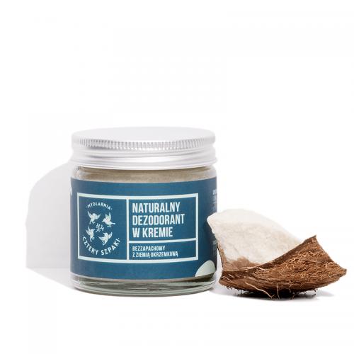 Dezodorant w kremie bezzapachowy z 4 Szpaki