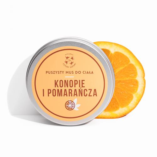 Mus do ciała Konopie i Pomarańcze od 4 Szpaki
