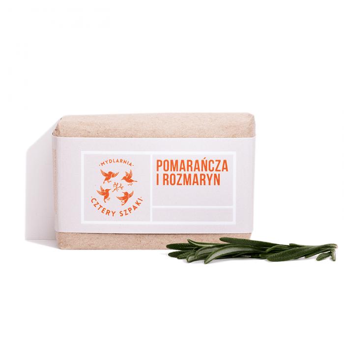 Mydło Pomarańcza i Rozmaryn z 4 Szpaki