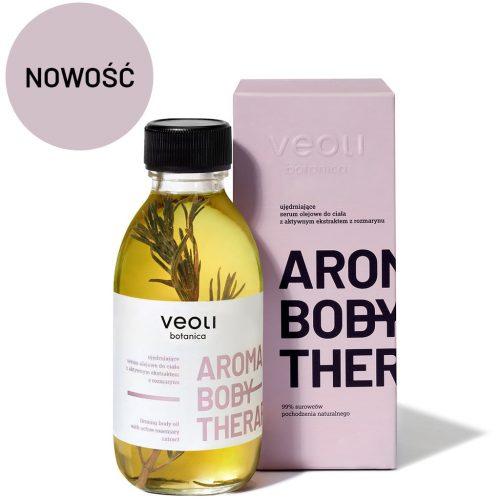 Ujędrniające serum olejowe do ciała z aktywnym ekstraktem z rozmarynu AROMA BODY THERAPY z Veoli Botanica