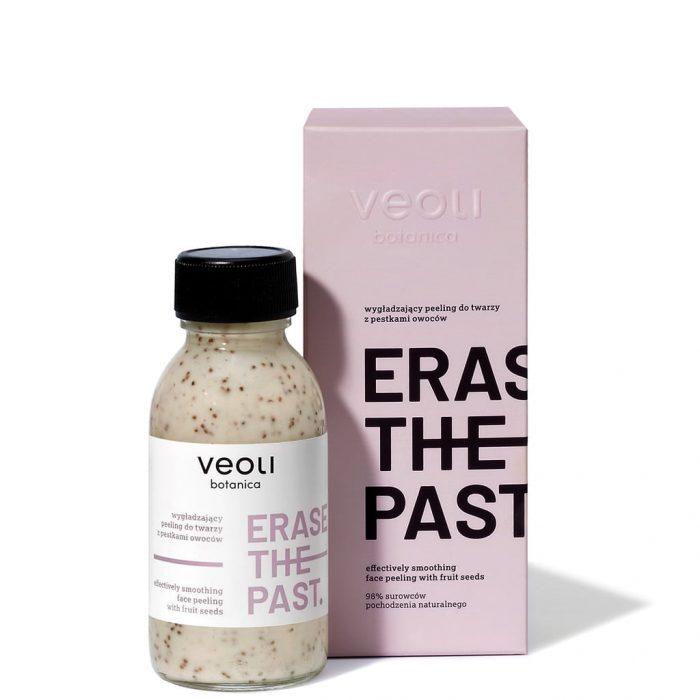 Wygładzający peeling z pestkami owoców do twarzy ERASE THE PAST (90ml) z Veoli Botanica 02