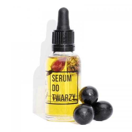 Serum do twarzy z witaminą C i Kwiatem Koniczyny z 4 Szpaki