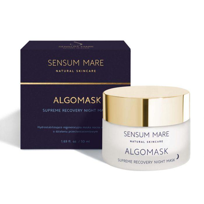 ALGOMASK Hydrostabilizująco regeneracyjna maska nocna od Sensum Mare