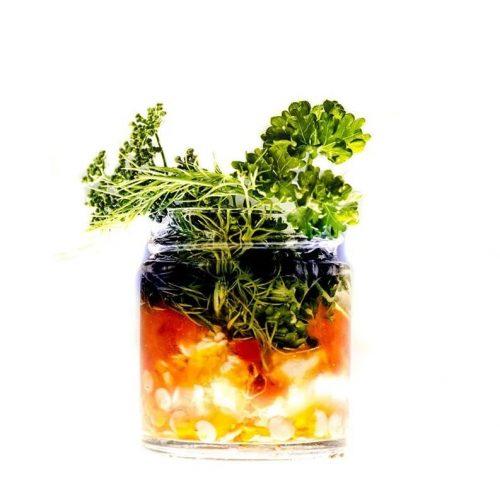Krem z psianki słodkogórz i esencji warzyw z Trawiaste