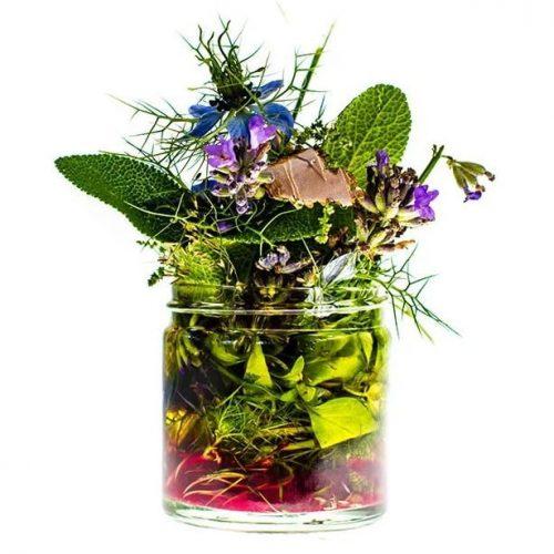 Naturalny krem eliksir z liści kory i tymianku z Trawiaste