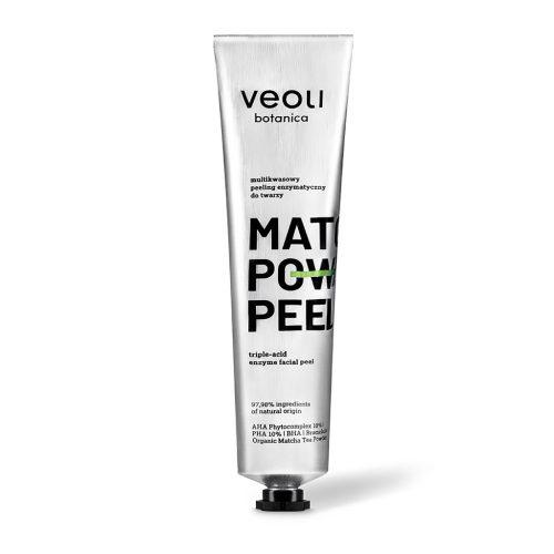 Veoli Botanica MATCHA POWER PEEL Multikwasowy peeling enzymatyczny