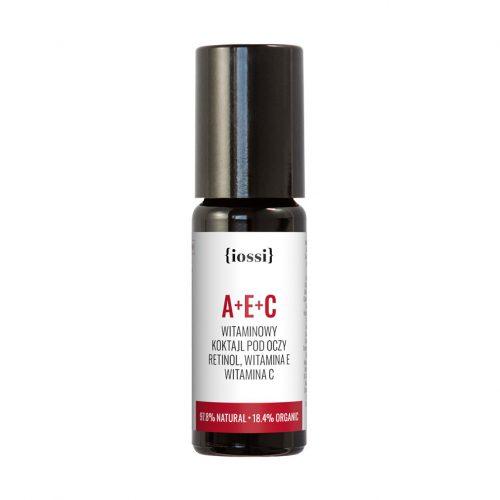 A+E+C Witaminowy koktajl pod oczy. Retinol, witaminy E i C z Iossi