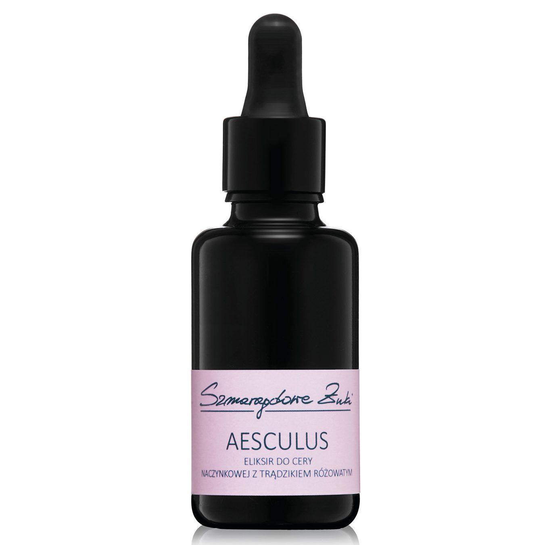 AESCULUS - eliksir do cery naczynkowej i z trądzikiem różowatym z Szmaragdowe Żuki