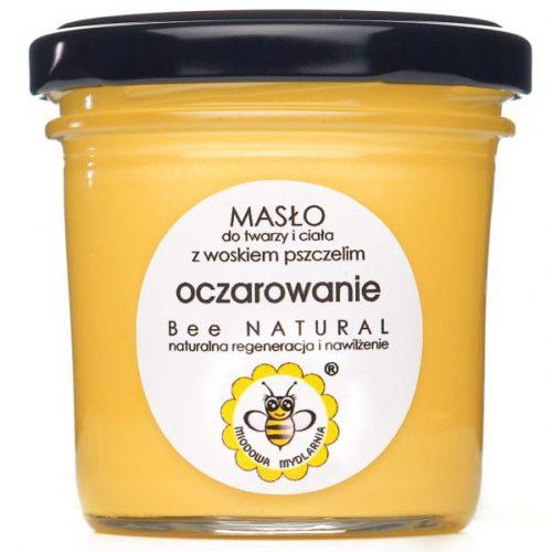 Masło do twarzy i ciała OCZAROWANIE od Miodowa Mydlarnia