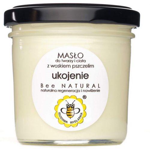 Masło do twarzy i ciała UKOJENIE od Miodowa Mydlarnia