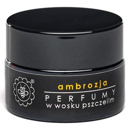 Perfumy w wosku pszczelim AMBROZJA od Miodowa Mydlarnia