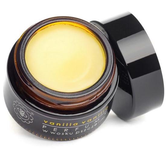 Perfumy w wosku pszczelim VANILLA VANILLA od Miodowa Mydlarnia
