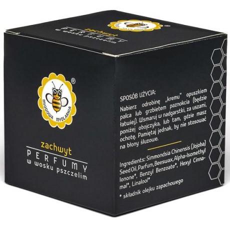 Perfumy w wosku pszczelim ZACHWYT od Miodowa Mydlarnia