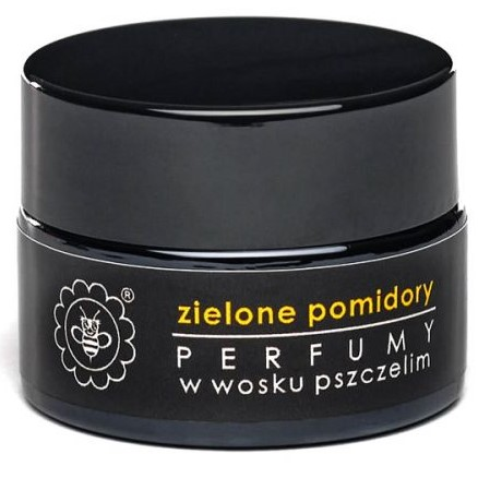 Perfumy w wosku pszczelim ZIELONE POMIDORY od Miodowa Mydlarnia
