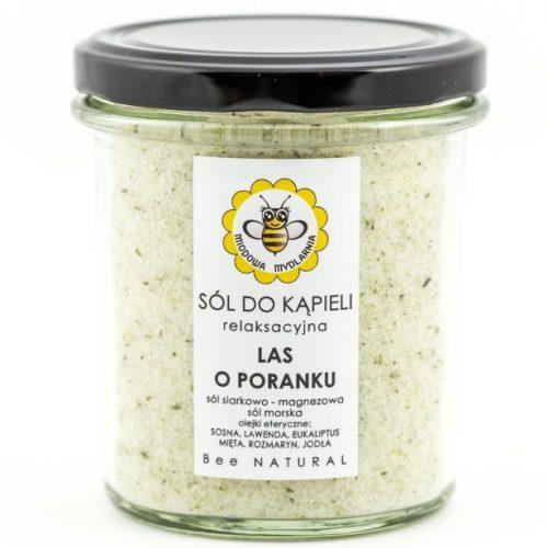 Sól do kąpieli LAS O PORANKU od Miodowa Mydlarnia