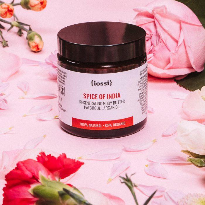 Spice of India. Regenerujące masło do ciała z Iossi