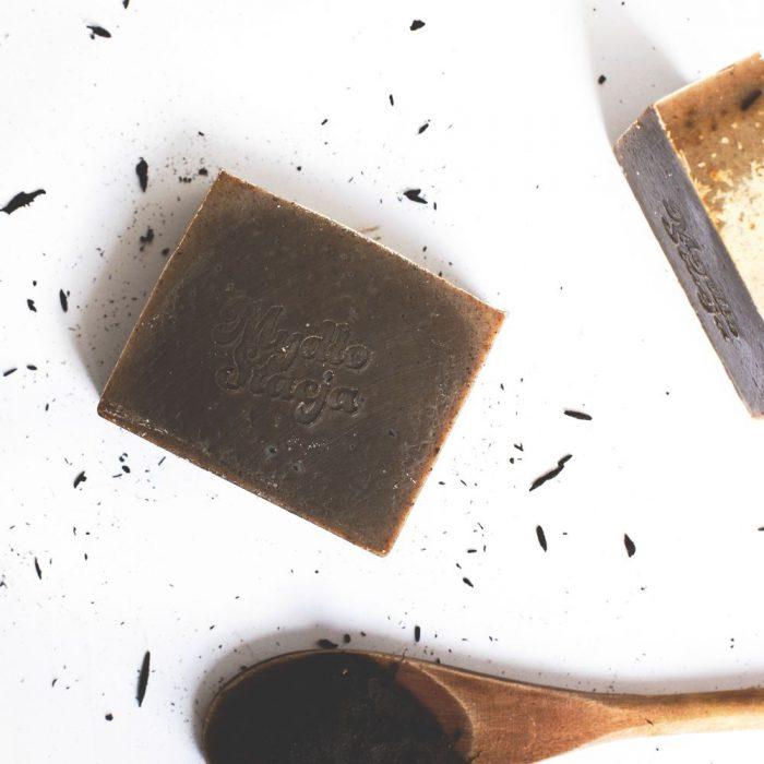 Mydło naturalne Czarne Złoto z Gorlic z Mydło Stacja